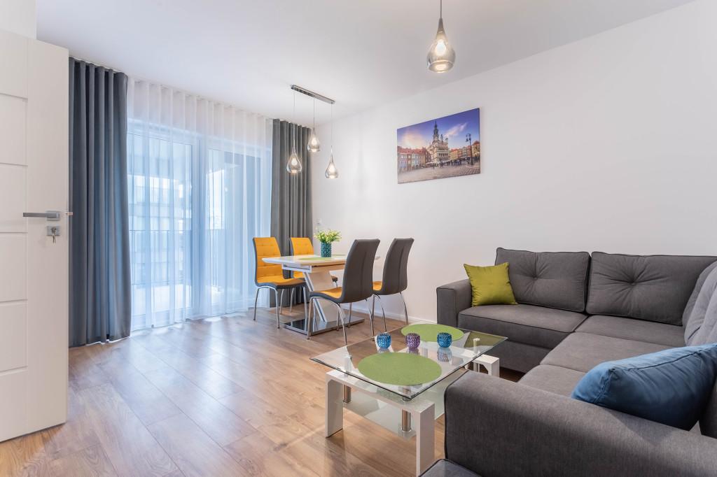 Komfortowe mieszkanie do najmu: ul. Gąsiorowskich, przy MTP, 45m2!