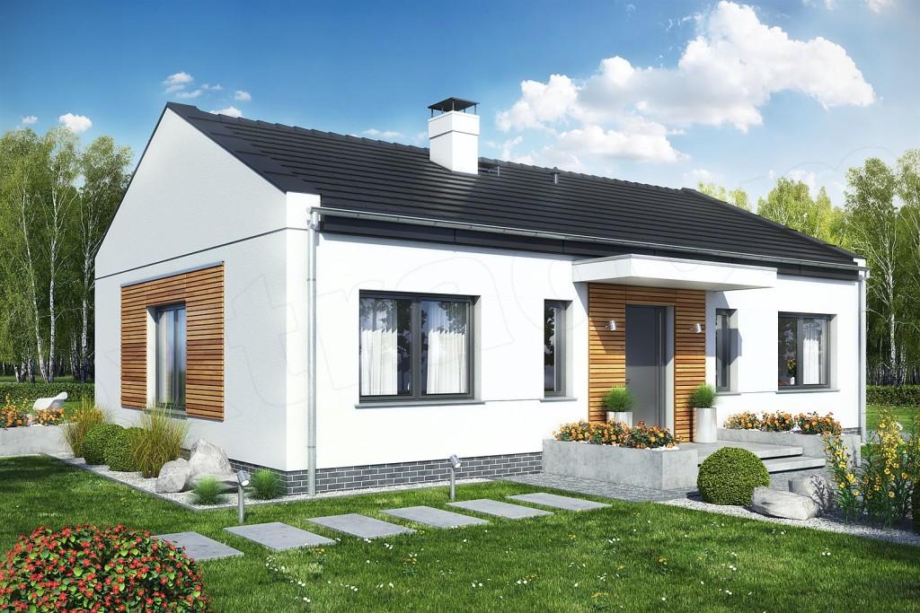 Nowy dom parterowy, 93m2/570m2, Gaj Wielki, gm. Tarnowo Podgórne!