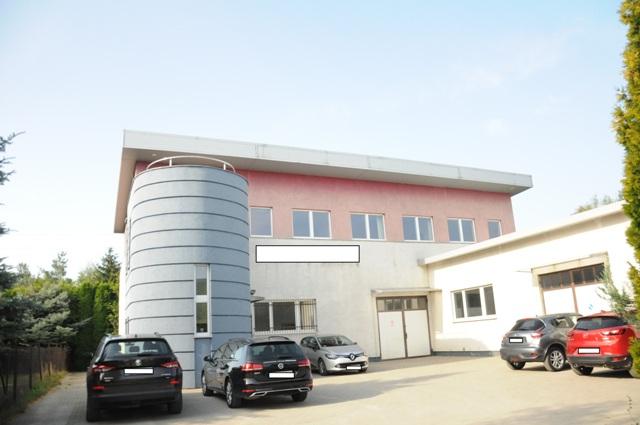 Budynek biurowo-magazynowy, 500m2, Skórzewo1