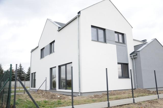 Skórzewo, nowy dom bliźniaczy, 126m2, działka ok. 320m2!